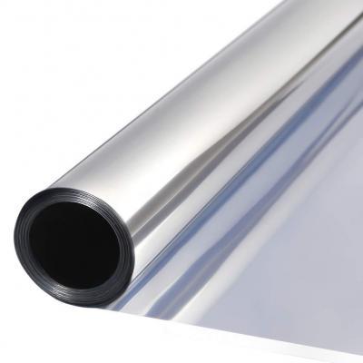TTMOW Vinilo Pet Película Adhesiva Lámina de Espejo para Ventanas Cristal Unidireccional Protector de Privacidad Anti 99% UV y Anti 85% IR para Hogar y Oficina