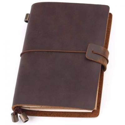 Cuero Cuaderno de Notas