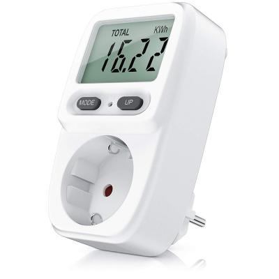 CSL, Medidor de Costo de Energía Medidor de Costo de Energía Medidor de Consumo de Energía, Medidor de Consumo Standby de 0.2W, Monitoreo de Costo Efectivo Doble Tarifa, 3680W